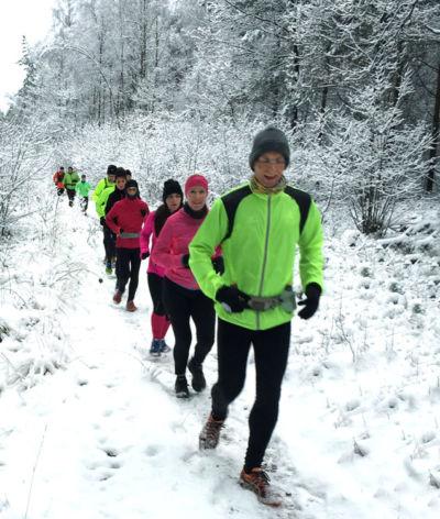 Laufen im Schnee - Wir laufen bei jedem Wetter
