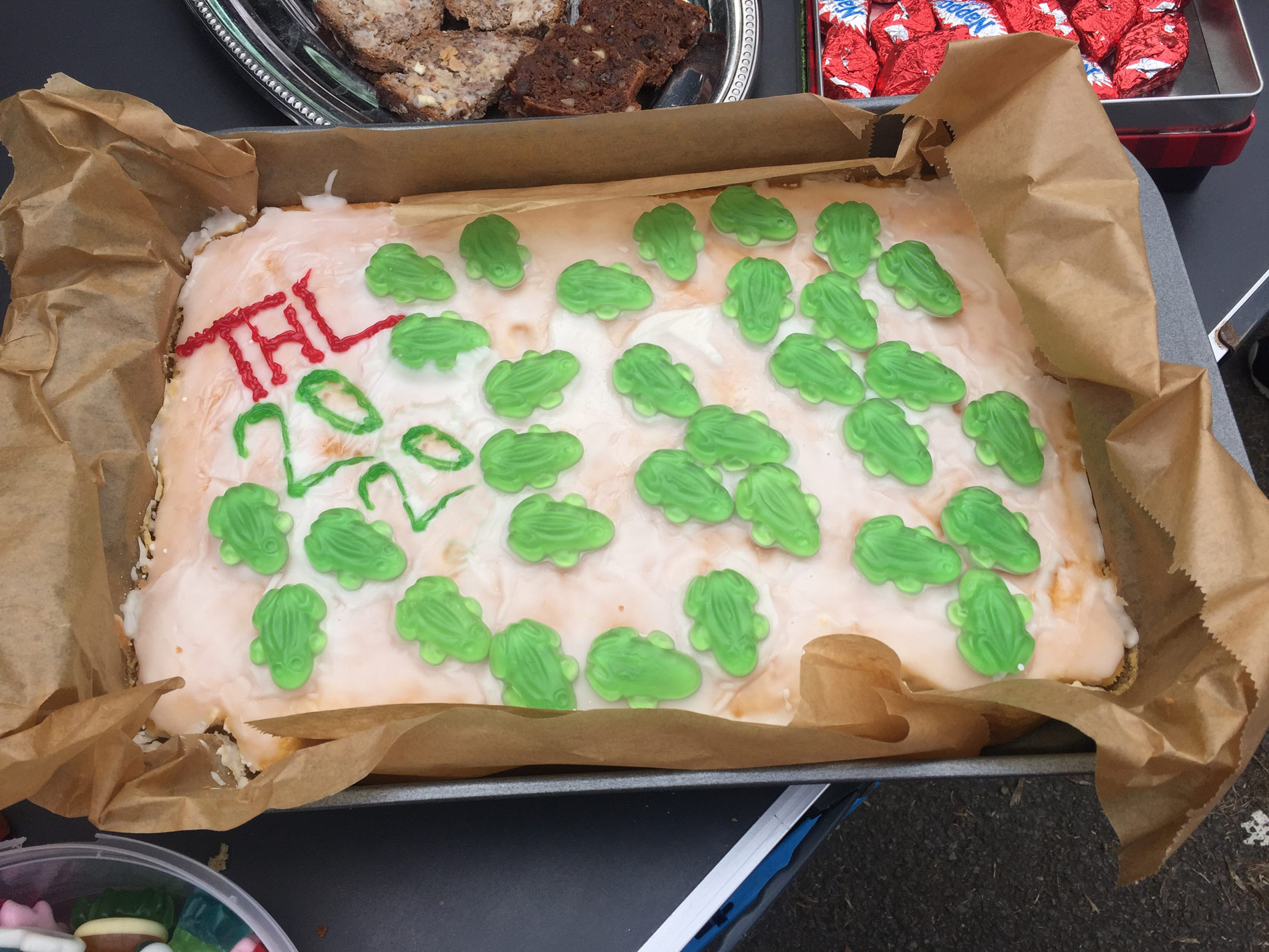 Teuto Hermannslauf 2020 Torte - Verpflegung bei Teuto Run & Fun